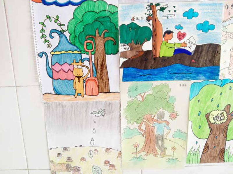 植树节主题绘画展